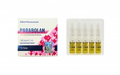 Balkan Pharmaceuticals PARABOLAN 10 amp 100mg/ml