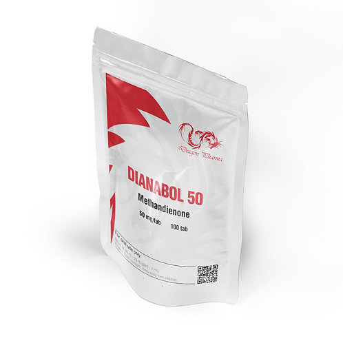 Dragon Pharma Dianabol 50 mg (100 tabs)