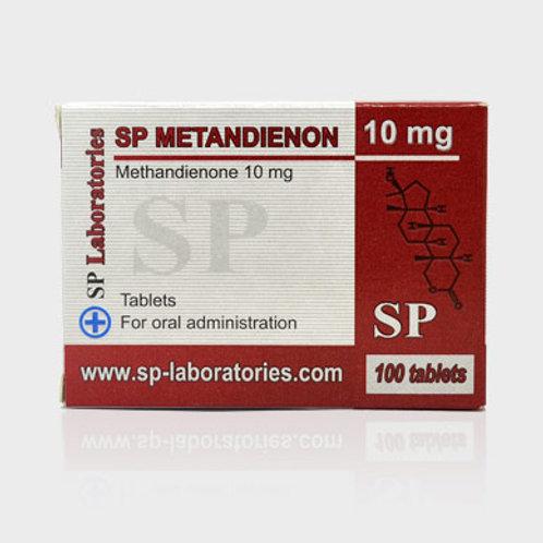 SP Laboratories METHANDIENONE 100tab 10mg/tab