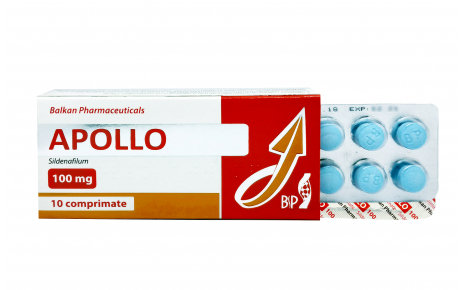 Balkan Pharmaceuticals APOLLO 10 tab 100mg/tab