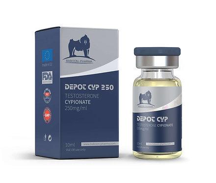 Baboon Pharma Depot-cyp (Testosterone cyponate) 250mg\ml 10ml