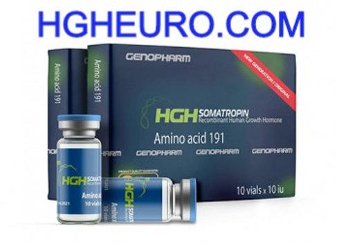 HGH Somatropin GENOPHARM 10vilas * 10IU