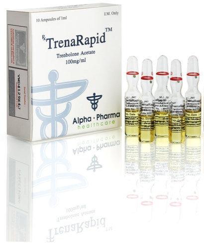 Alpha Pharma TrenaRapid 100mg/ml 10 amp
