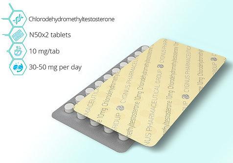 Cygnus Pharmaceutical Turinabol 10mg/tab 100tab