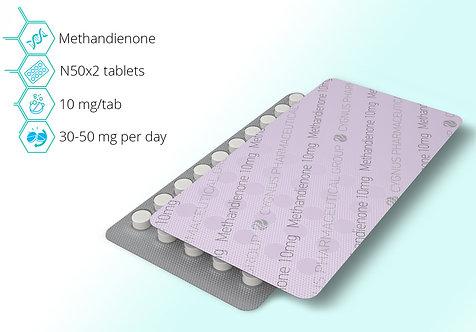 Cygnus Pharmaceutical Methandienone 10mg/tab 100 tab