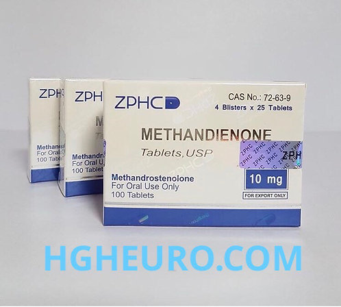ZPHC METHANDIENONE 10 mg 100 tab