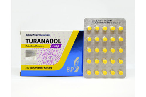 Balkan Pharmaceuticals TURANABOL 100 tab 10mg/tab
