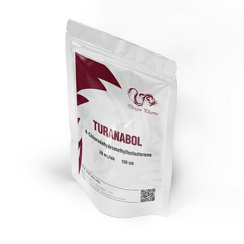 Dragon Pharma Turanabol 20 mg (100 tabs)