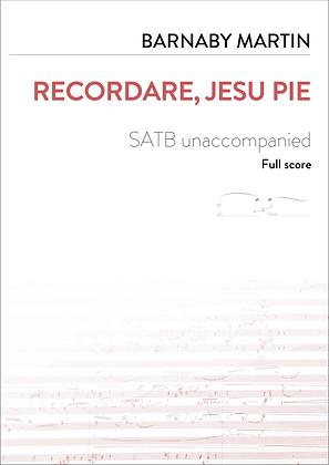 Recordare, Jesu Pie