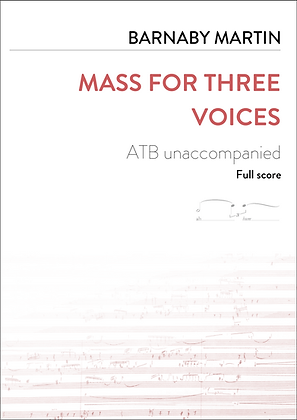 Mass for three voices