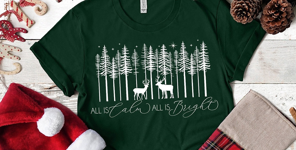 All is Calm, All is Bright - Deer