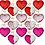 Thumbnail: Sequin Heart Keychain
