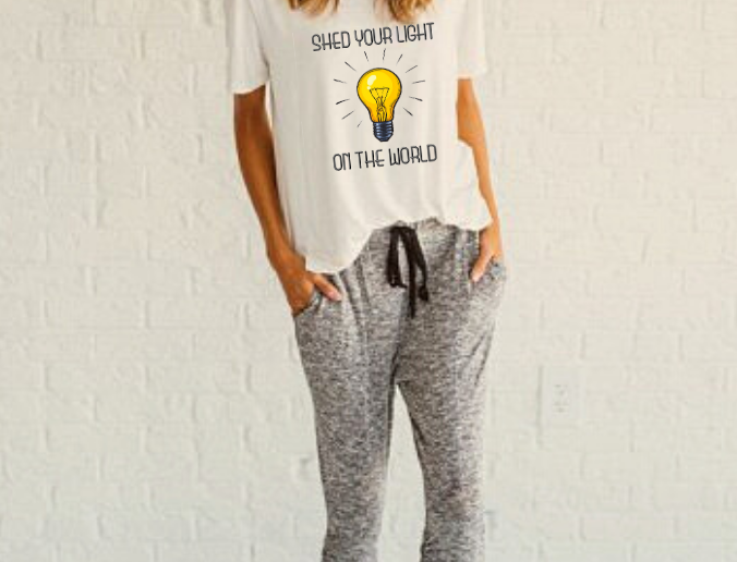 """""""Shed Your Light"""" T-Shirt"""