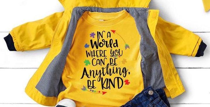 Be Kind, Autism Awareness