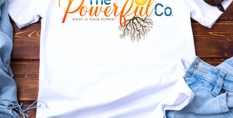 """The Powerful Co"" Logo T-Shirt"