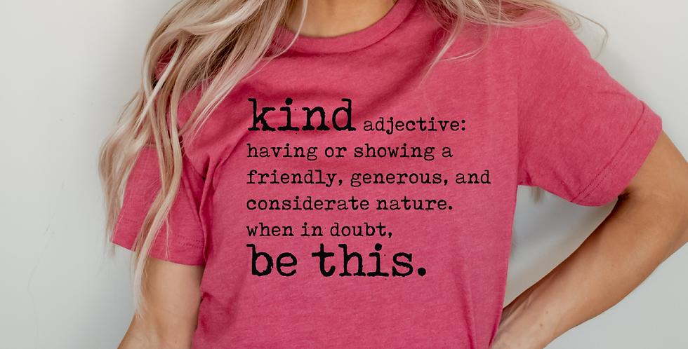 Kind, Definition