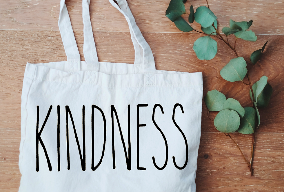Canvas Tote - Kindness