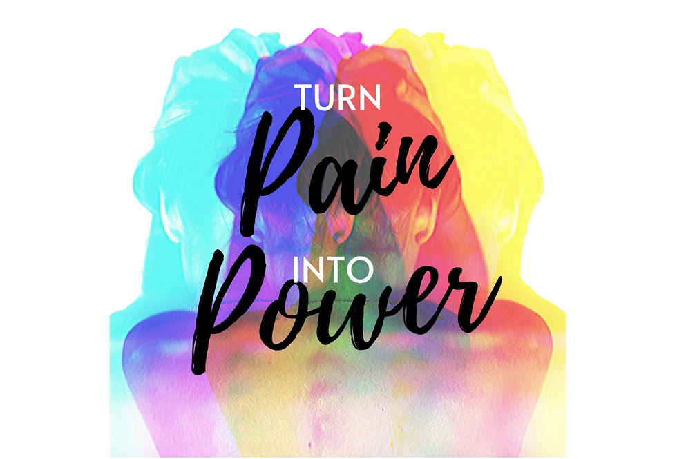 """Turn Pain Into Power"" Print"