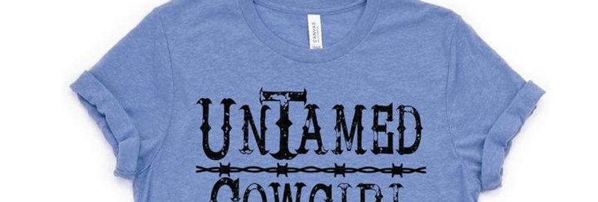 Untamed Cowgirl - Tee