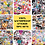 Thumbnail: Vinyl Sticker Pack - 15pcs