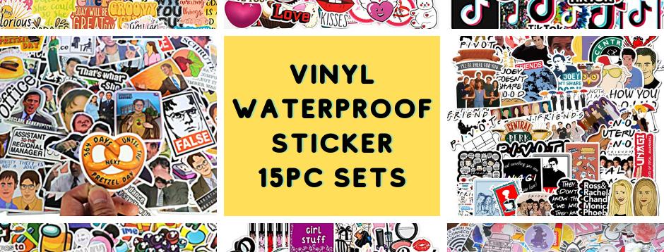 Vinyl Sticker Pack - 15pcs