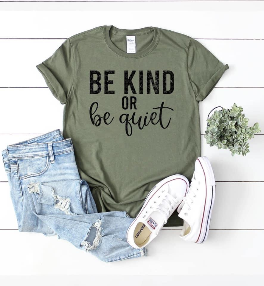 Be Kind or Be Quiet - KMR