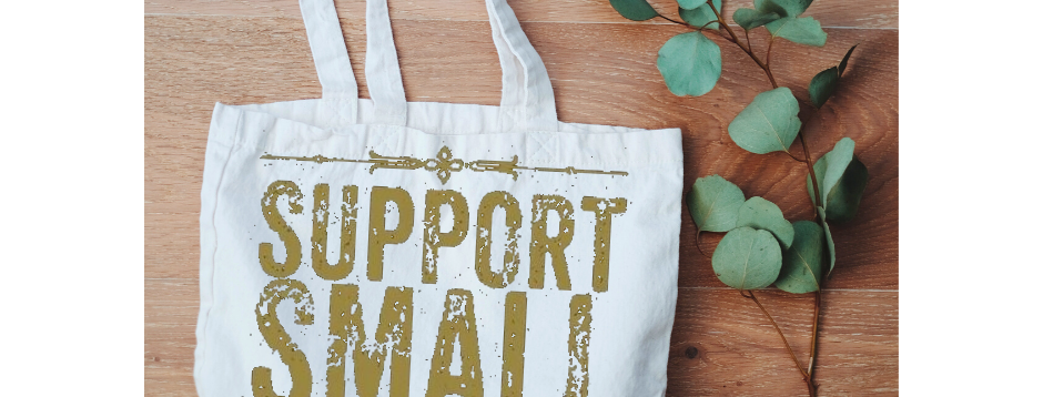 Canvas Tote - Support Small Businesses