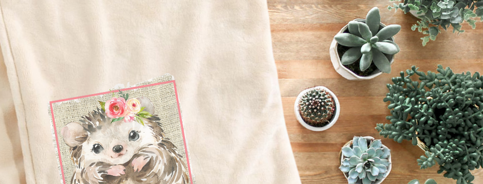 Fleece Throw Blanket - Let's Cuddle