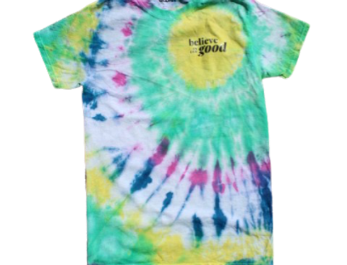 Positive Quote - Custom Tie-Dye T-Shirt