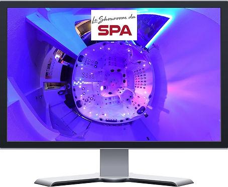 Le Showroom du Spa Toulon UniVR360 Visite Virtuelle sol air 360