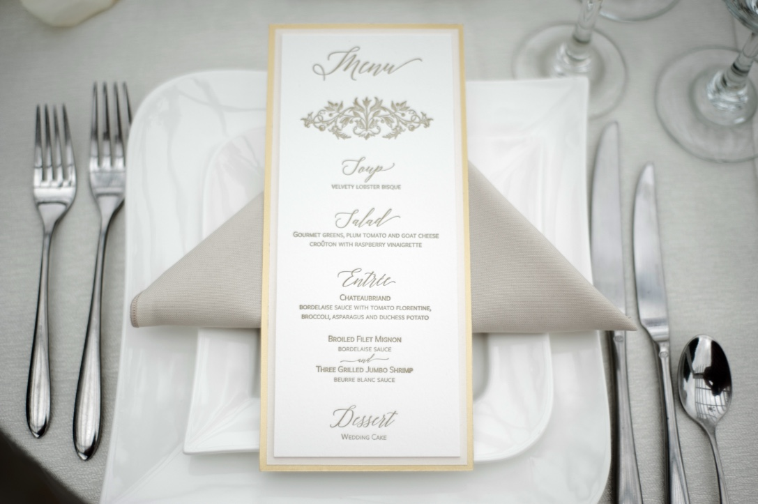 gold-and-blush-letterpress-menu-by-lucky-invitations