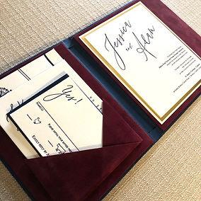 Velvet-lined-wedding-invitation-by-lucky