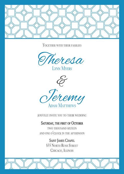 Josie Invitation Suite - Flat Print