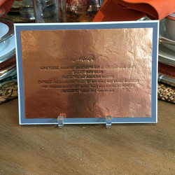 wedding-menu-letterpress-printed-on-hand-hammered-copper-by-lucky-invitations