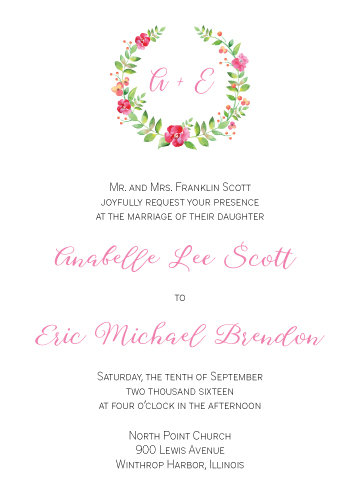 Sophie Invitation Suite - Flat Print