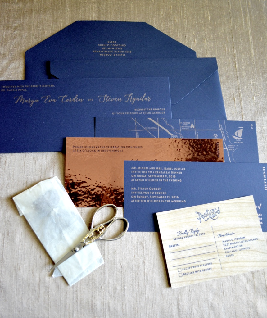navy-blue-and-copper-wedding-invitation-suite-by-lucky-invitations