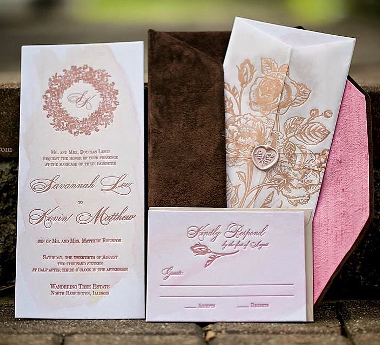 Lucky Invitations Couture Wedding Invitations – Luxury Wedding Invites