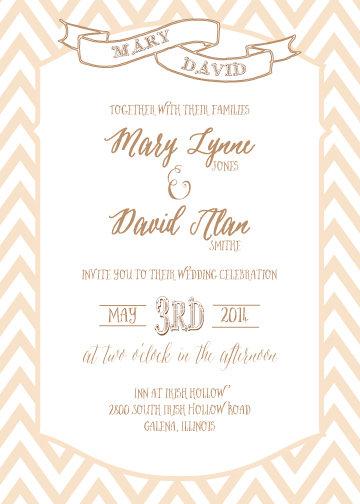 Delia Invitation Suite - Flat Print