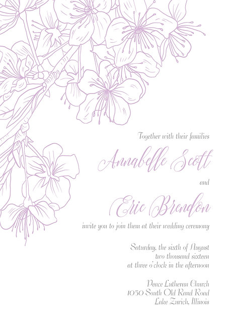 Molly Invitation Suite - Flat Print