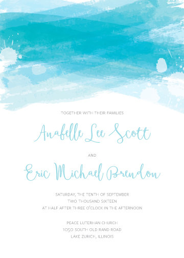 Leah Invitation Suite - Flat Print