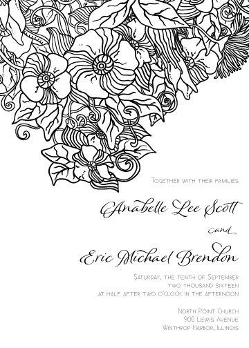 Aria Invitation Suite - Flat Print