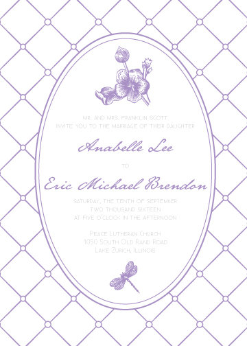 Zoe Invitation Suite - Flat Print