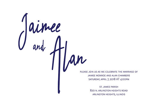 Jaimee Invitation Suite