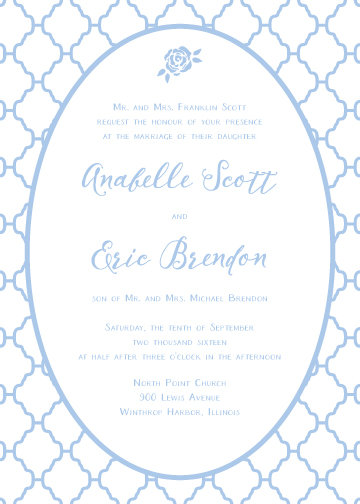 Becky Invitation Suite - Flat Print