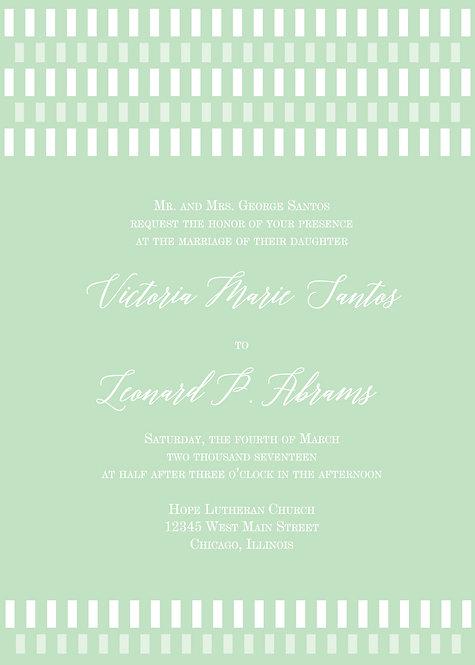 Tiffany Invitation Suite - Flat Print