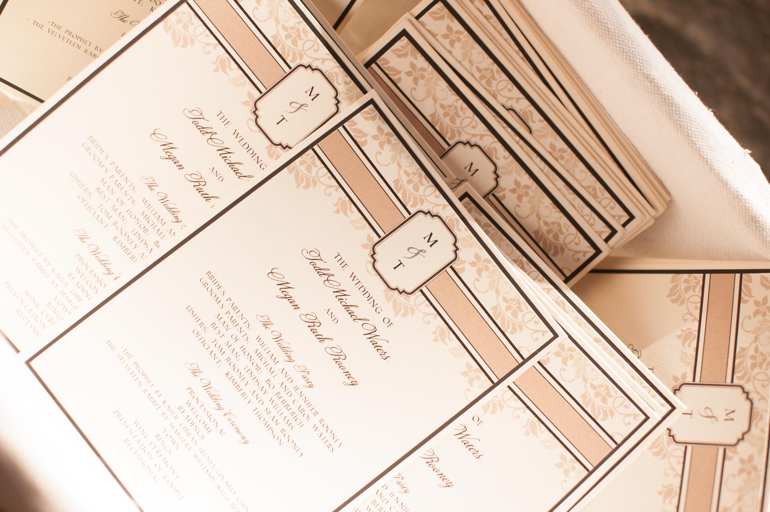 custom-monogram-ceremony-program-cards-by-lucky-invitations