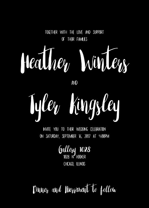 Heather Invitation Suite
