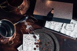 Custom-box-with-custom-designed-napkins-gift-set-by-lucky-invitations
