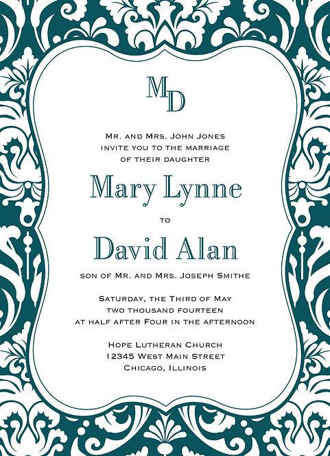 Carol Invitation Suite - Flat Print