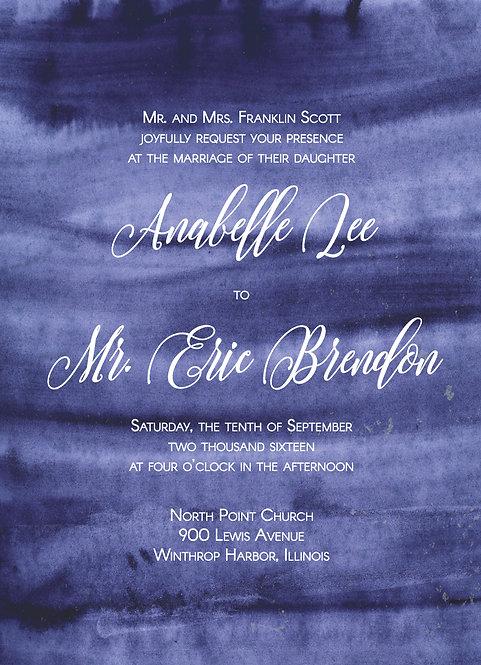 Victoria Invitation Suite - Flat Print